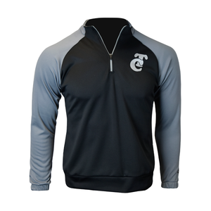 Pullover Black Gray TC Caballero