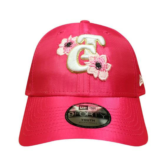 Gorra Pink Flower TC White