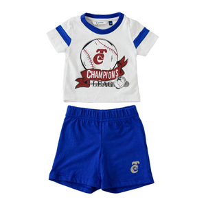 Conjunto Short Azul Champ League 19