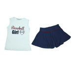 Conjunto Baseball Girl