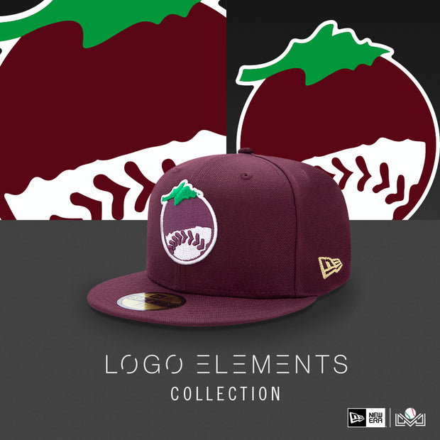 Gorra 5950 Guinda Elements 19