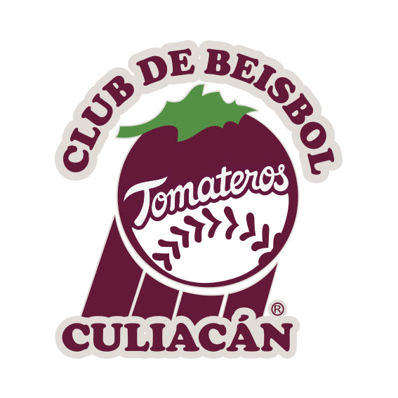 Calcomanía Club de Beisbol 9x10 cm