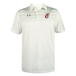 Playera Polo Gray Stripes UA 20 Caballero