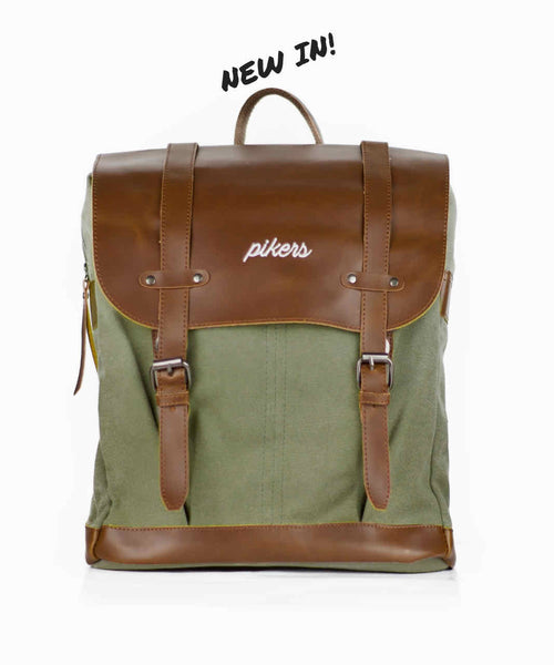Mochila Bohemian Old Green - Pikers