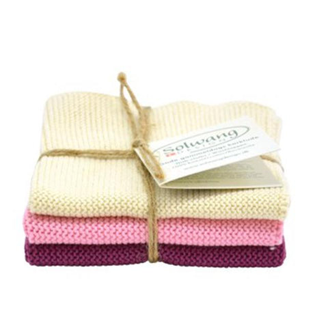 Dish Cloths Made Of Cotton - Varies Colours