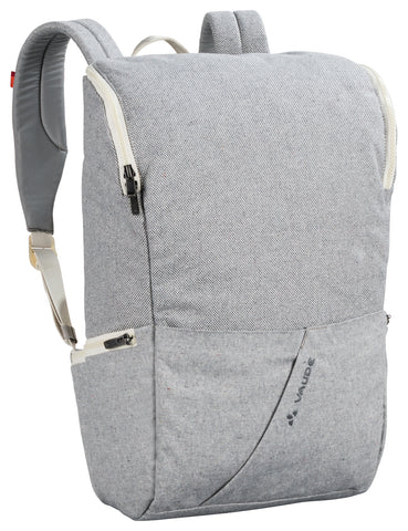 Backpack - Organic Cotton and Hemp Fibres - Light Grey