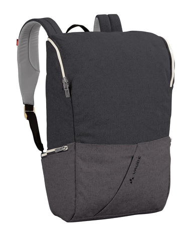 Backpack - Organic Cotton and Hemp Fibres - Black