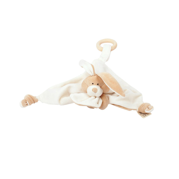 Organic Cotton Bunny Comforter For Babies