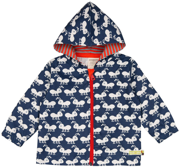 Water Repellent Organic Cotton Jacket For Kids