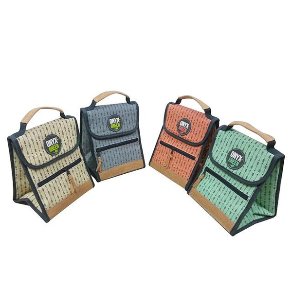 Plant Material Eco-friendly Insulated Lunch Bag in Four Colors