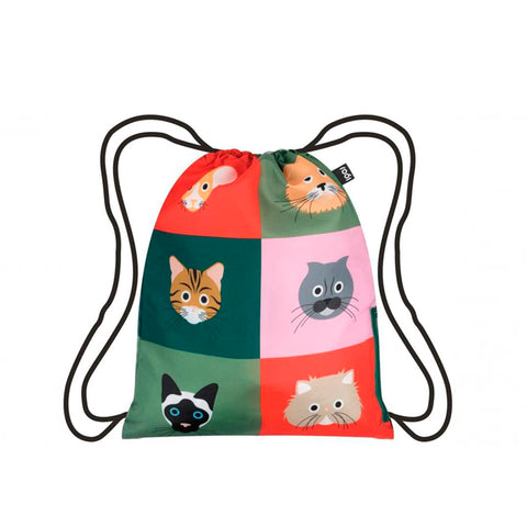LOQI Backpack - Cats