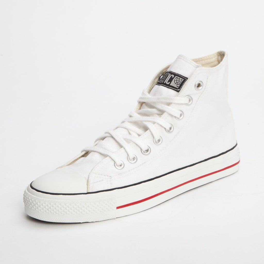 High Cut Sneakers with Fairtrade Cotton