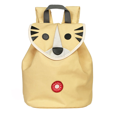 Danish design sustainable children's yellow tiger backpack