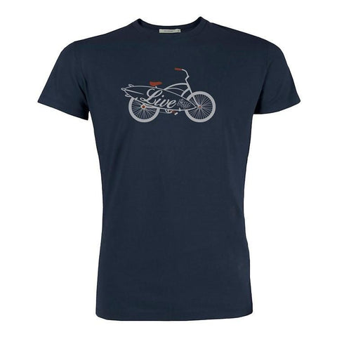 Men´s T-Shirt with Bike Print
