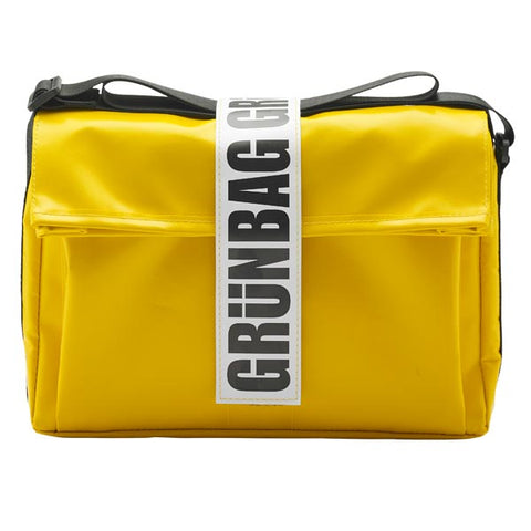 Sustainable Shoulder bag - Carry Yellow