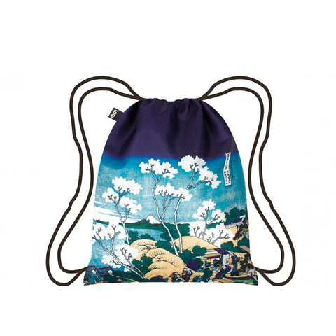 LOQI Backpack - HOKUSAI Fuji from Gotenyama