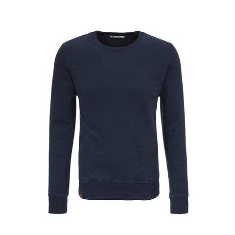 Basic Blue Jumper in Organic Cotton