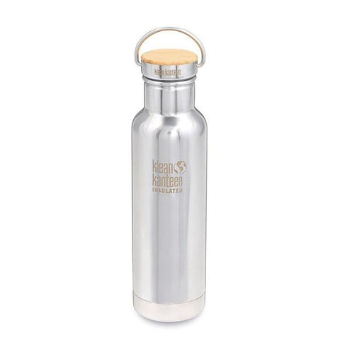 Stainless Steel Thermo Bottle With  Bamboo Cap