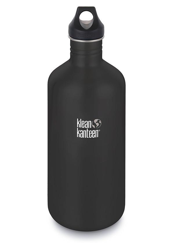 Klean Kanteen Classic Water Bottle Black - Different Sizes
