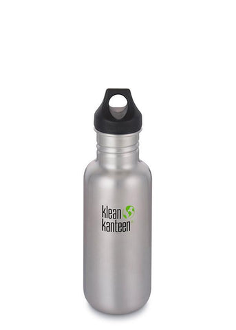 Klean Kanteen Classic Water Bottle - Stainless Steel