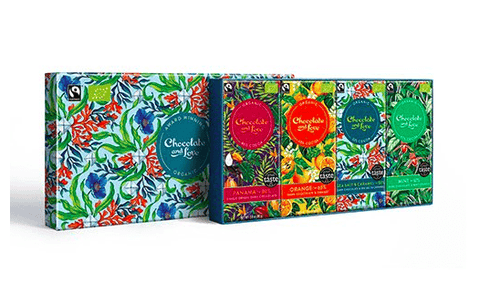 Chocolate Giftbox Full Of Love - Panama, Mint, Orange, Sea Salt
