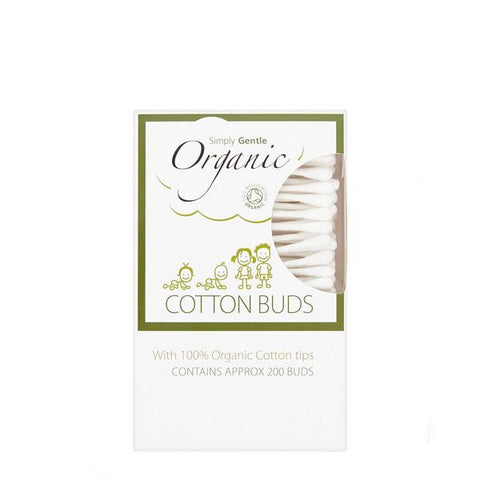 100% organic cotton wool buds