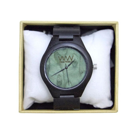 Wooden watch from Wood World