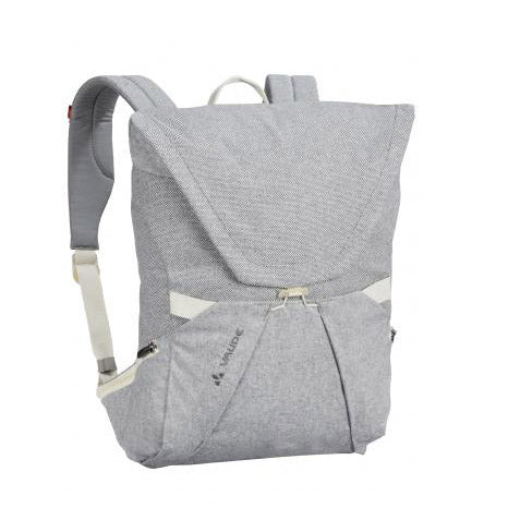 Backpack - Made of organic cotton & hemp fibers - Light grey