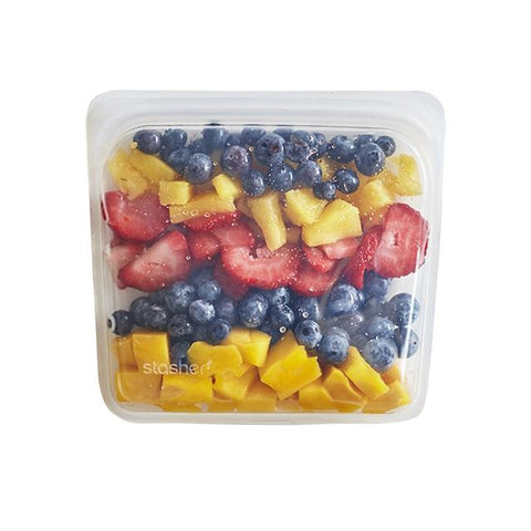 Plastic Free Silicone Storage Bags - Various Sizes/Colors
