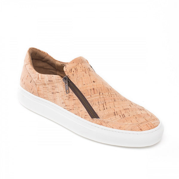 Vegan shoes made from cork