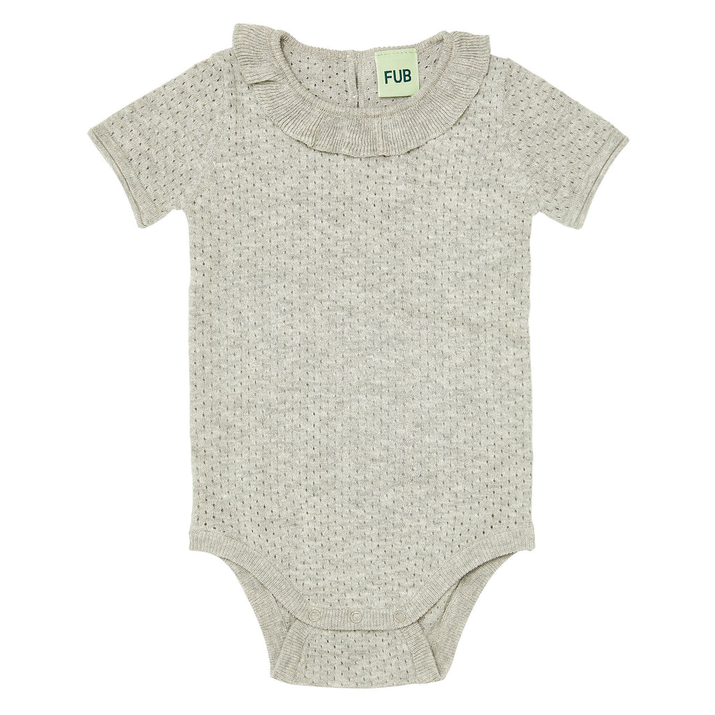 Soft Organic Cotton Baby Body