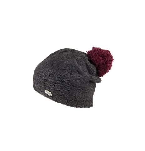 KuSan Slouch with Contrast Pom
