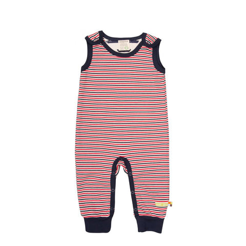 Organic Cotton Baby Jumpsuit - Two Colours
