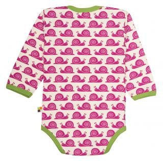 Organic Cotton Body For Your Baby - Long Sleeve