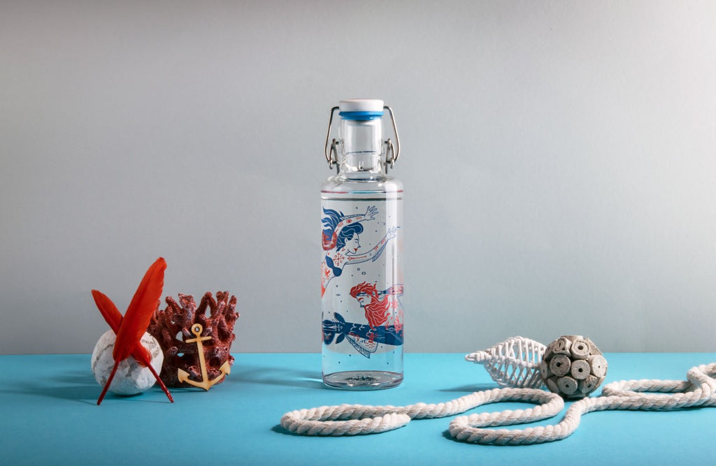 Glass Water Bottles in many Cool Designs