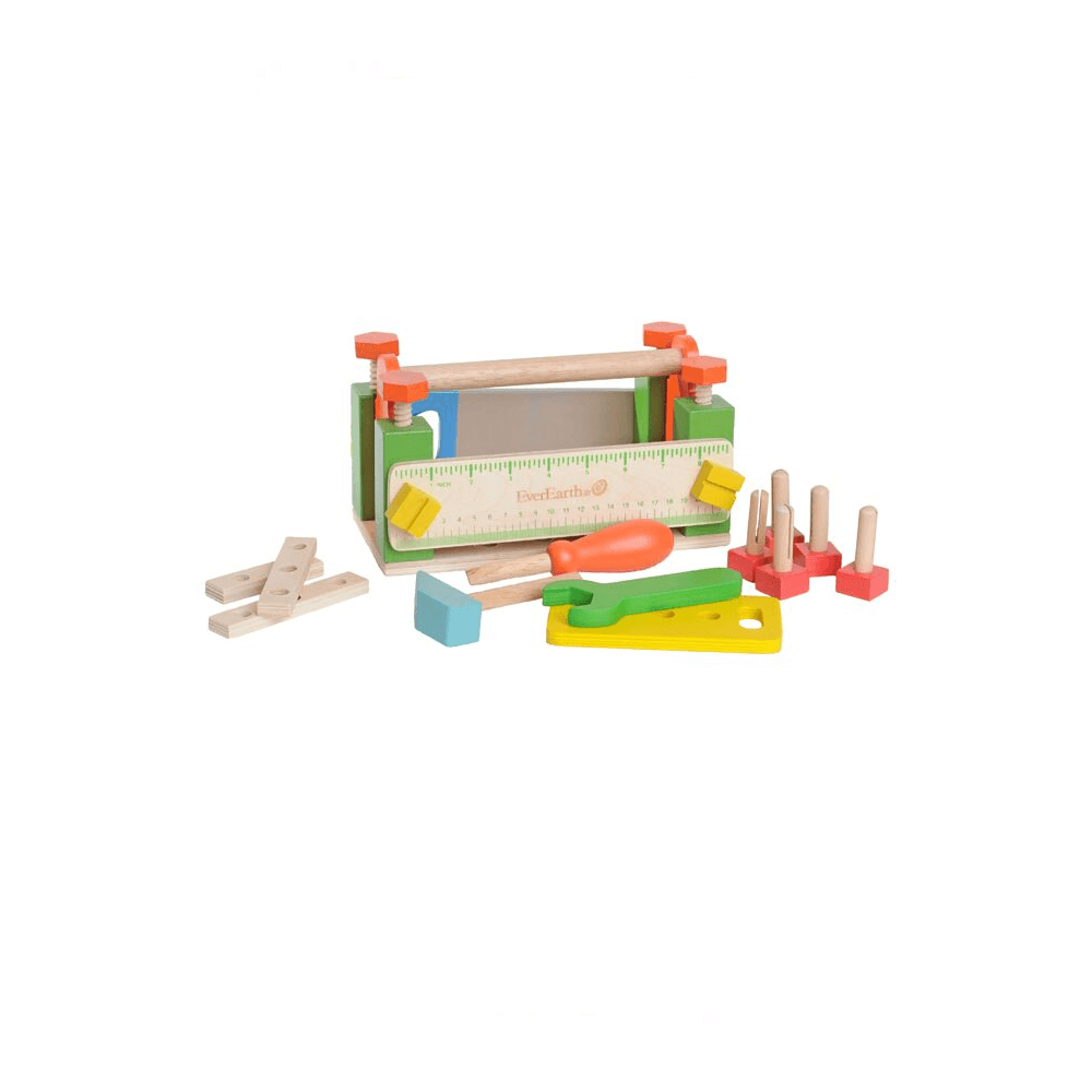 Wooden Tool Box for Kids