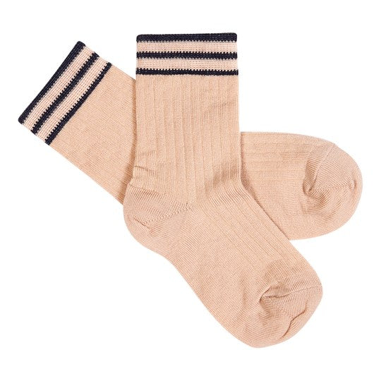 Wool Children Socks - Pale Pink
