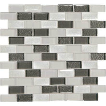 Daltile Mosaic Backsplash-Crystal Shores-DAL_CS93_1x2_BrickJnt_msc_DiamondDelta