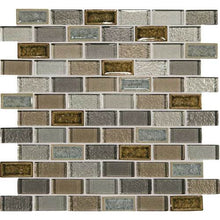 Daltile Mosaic Backsplash-Crystal Shores-DAL_CS95_1x2_BrickJnt_msc_SapphireLagoon