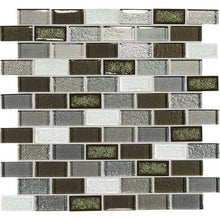 Daltile Mosaic Backsplash-Crystal Shores-DAL_CS96_1x2_BrickJnt_msc_EmeraldIsle