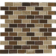 Daltile Mosaic Backsplash-Crystal Shores-DAL_CS97_1x2_BrickJnt_msc_CopperCoast
