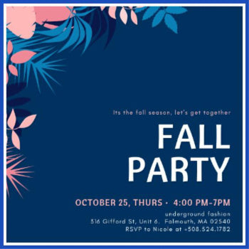 Fall Social Mixer Event!
