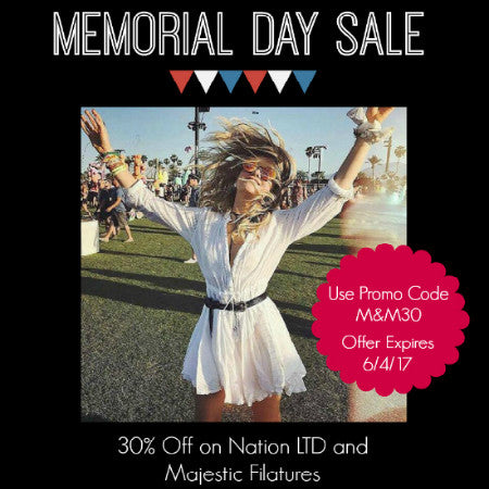 It's Our Memorial Day Sale!