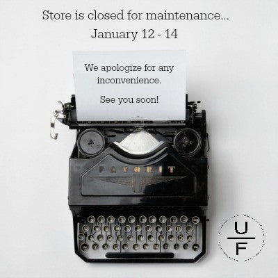 Store is closed for this week, but...