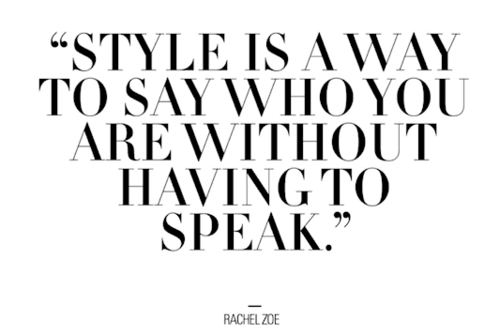 Less talking, more styling!