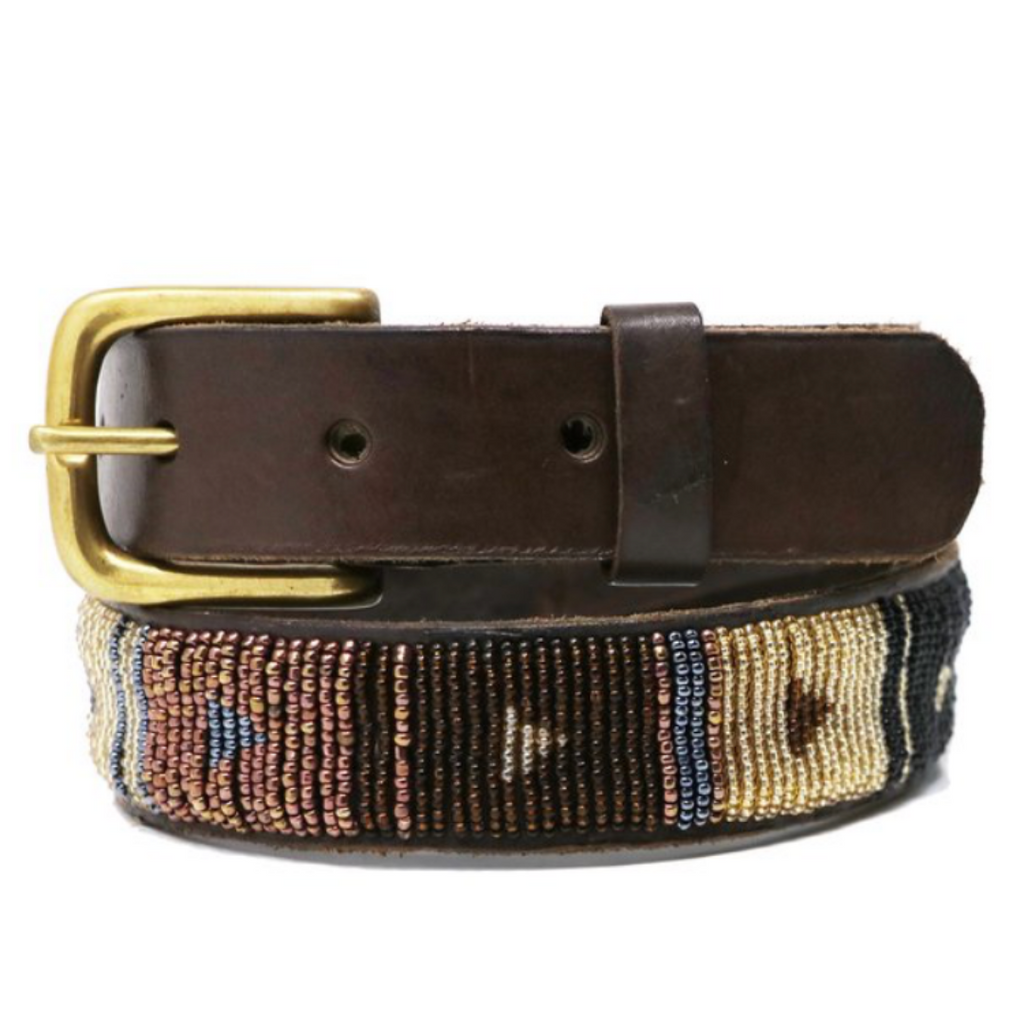 Block Diamond Belt - Autumn