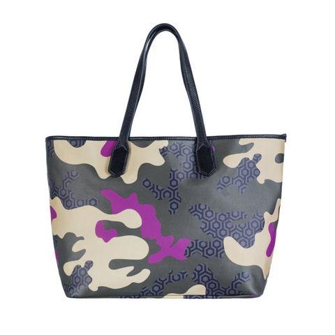 JET SET TOTE - CAMO ORCHID