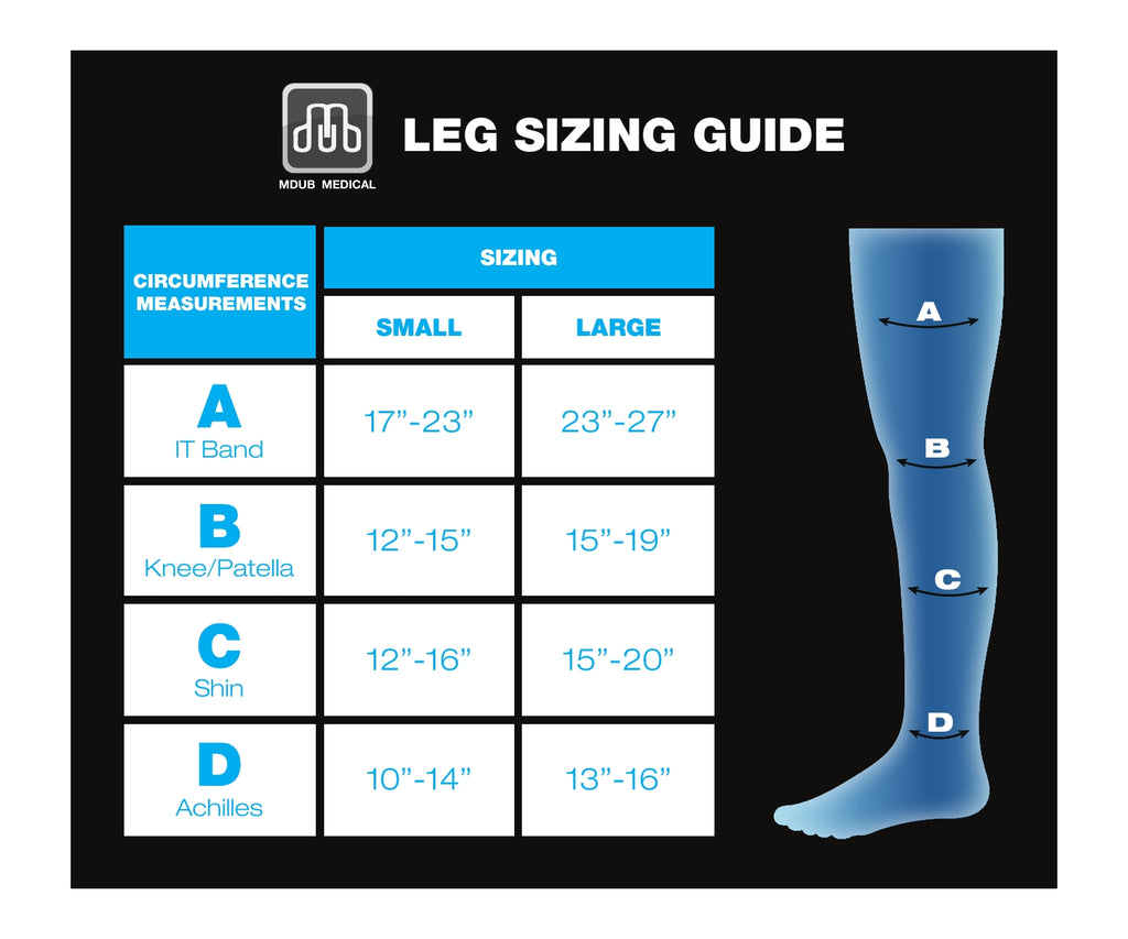 Leg Sizing Guide
