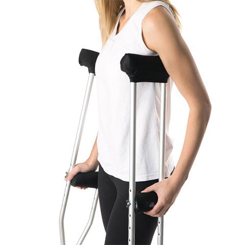 Underarm Crutch Pad and Hand Grip Covers by MDUB - MDUB MEDICAL