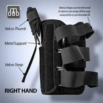 CROSSTRAP Thumb & Wrist Brace | Right or Left Hand Splint & Stabilizer with Adjustable Strap and Removable Splint - MDUB MEDICAL